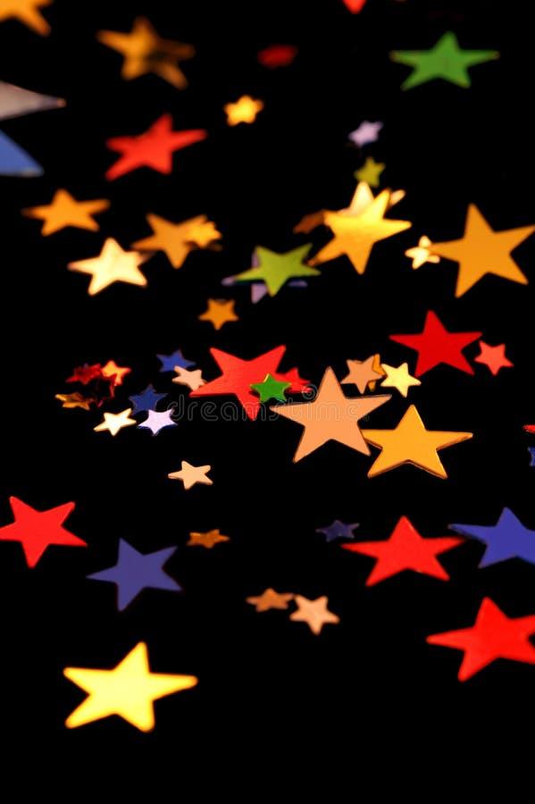 Pequeñas estrellas imagenes de archivo