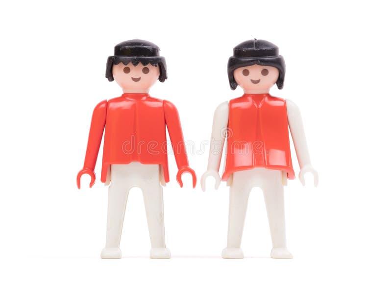 Pequeñas muñecas, juguetes para los niños foto de archivo libre de regalías
