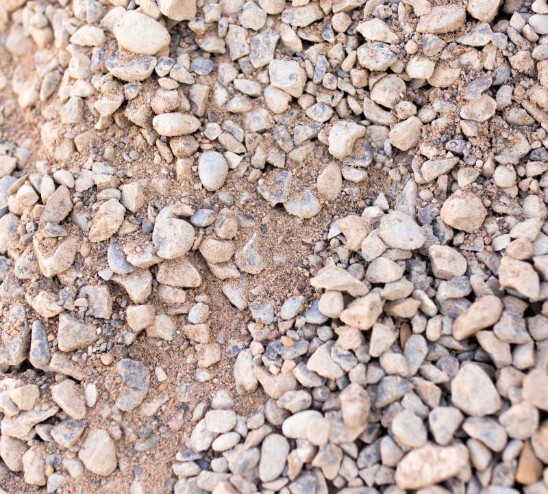 Pequeñas piedras de la grava como fondo imágenes de archivo libres de regalías