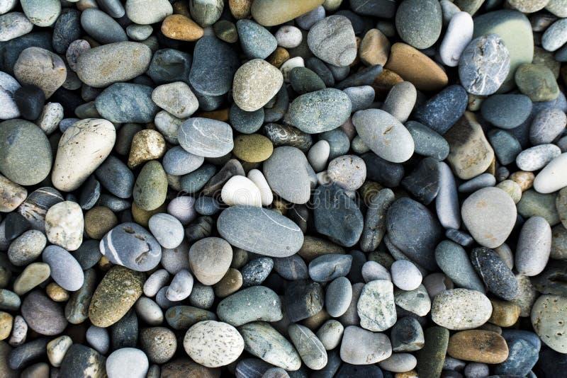 Pequeñas piedras del mar, grava fotos de archivo