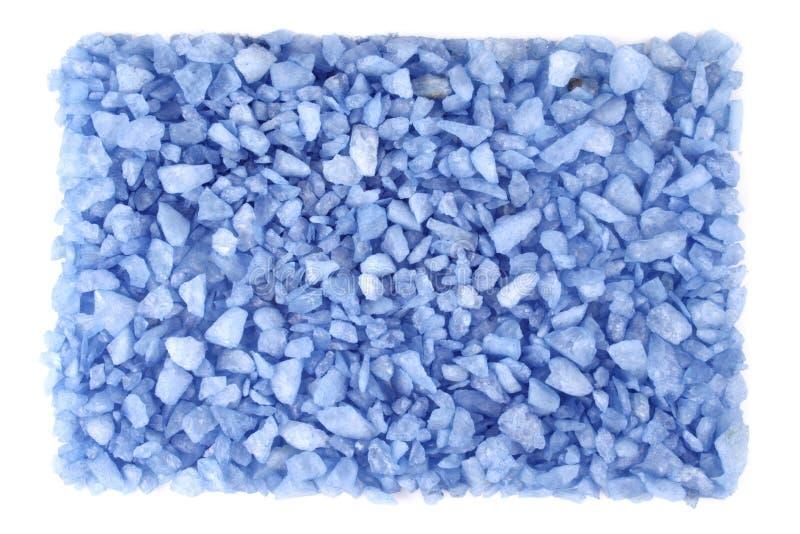 Pequeñas rocas azules foto de archivo