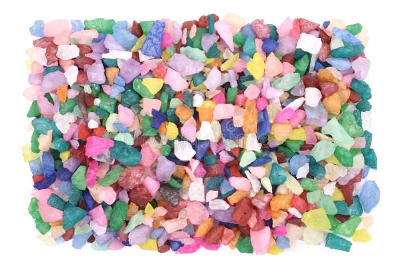 Pequeñas rocas coloreadas foto de archivo libre de regalías