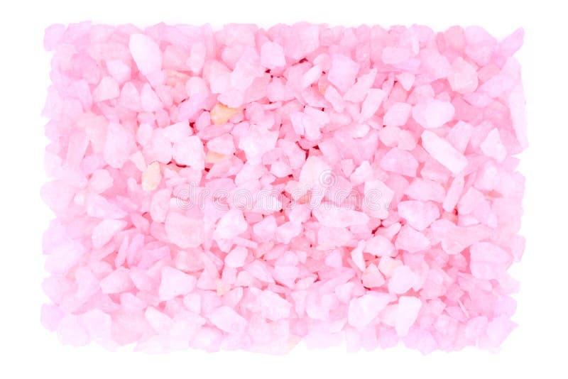 Pequeñas rocas rosadas imágenes de archivo libres de regalías