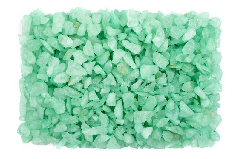 Pequeñas rocas verdes fotos de archivo