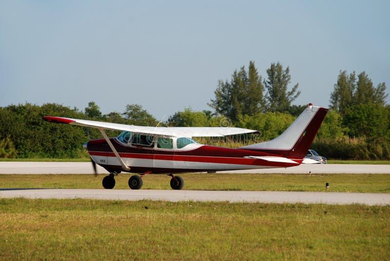 Pequeño aeroplano privado foto de archivo libre de regalías