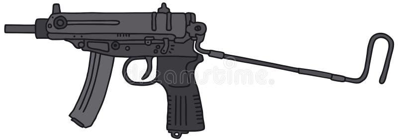 Pequeño arma automático libre illustration