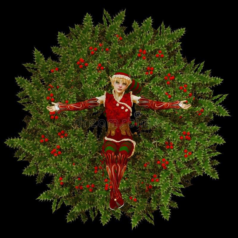 Pequeño ayudante de Santa libre illustration