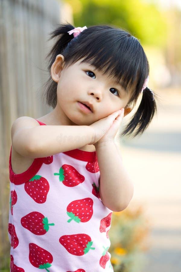 Pequeño bebé chino asiático fotos de archivo