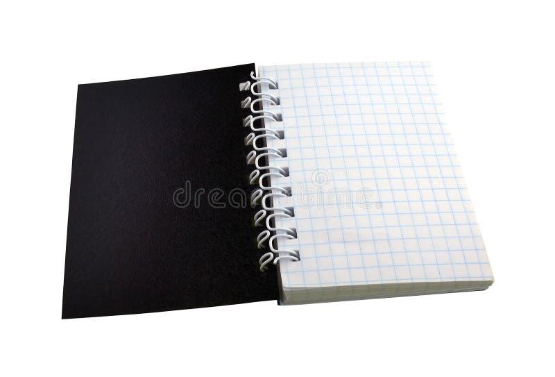 Pequeño cuaderno fotografía de archivo libre de regalías