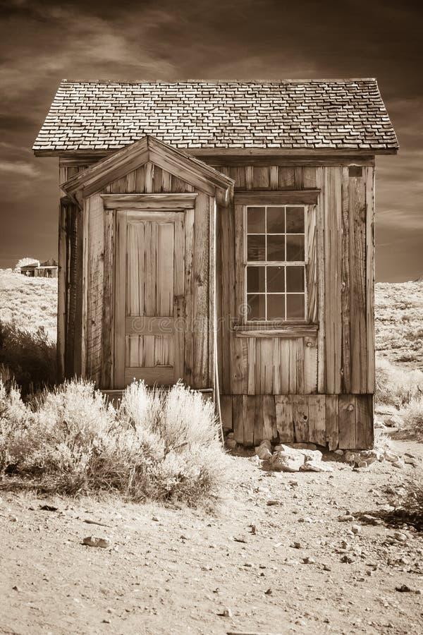 Pequeño edificio viejo imagen de archivo