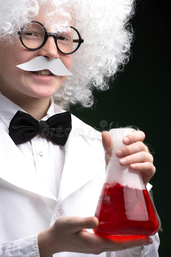 Pequeño Einstein. imagen de archivo