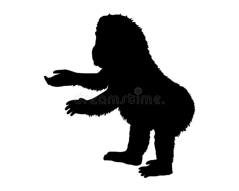 Pequeño gorila libre illustration