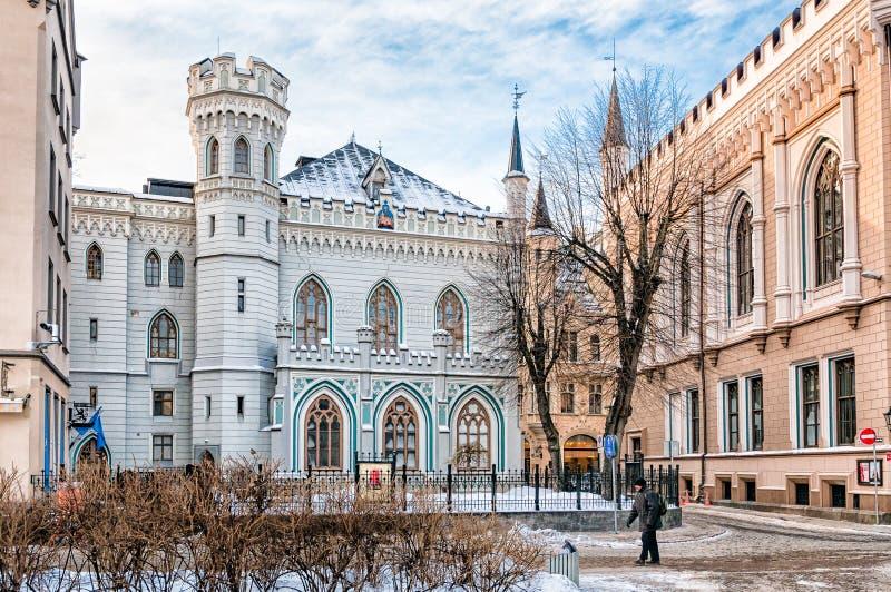 Pequeño gremio Pasillo de Riga imagen de archivo libre de regalías