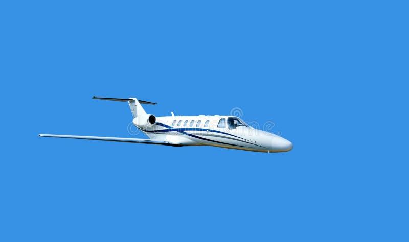 Pequeño jet privado fotos de archivo libres de regalías