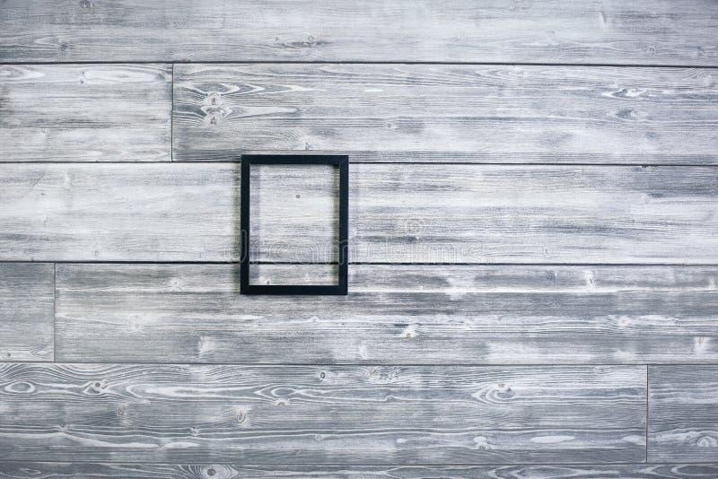 Pequeño marco negro foto de archivo