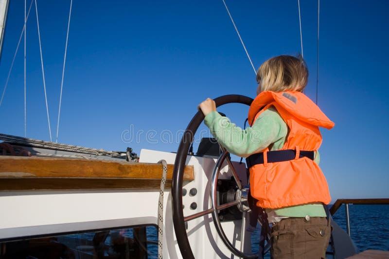 Pequeño marinero fotografía de archivo libre de regalías