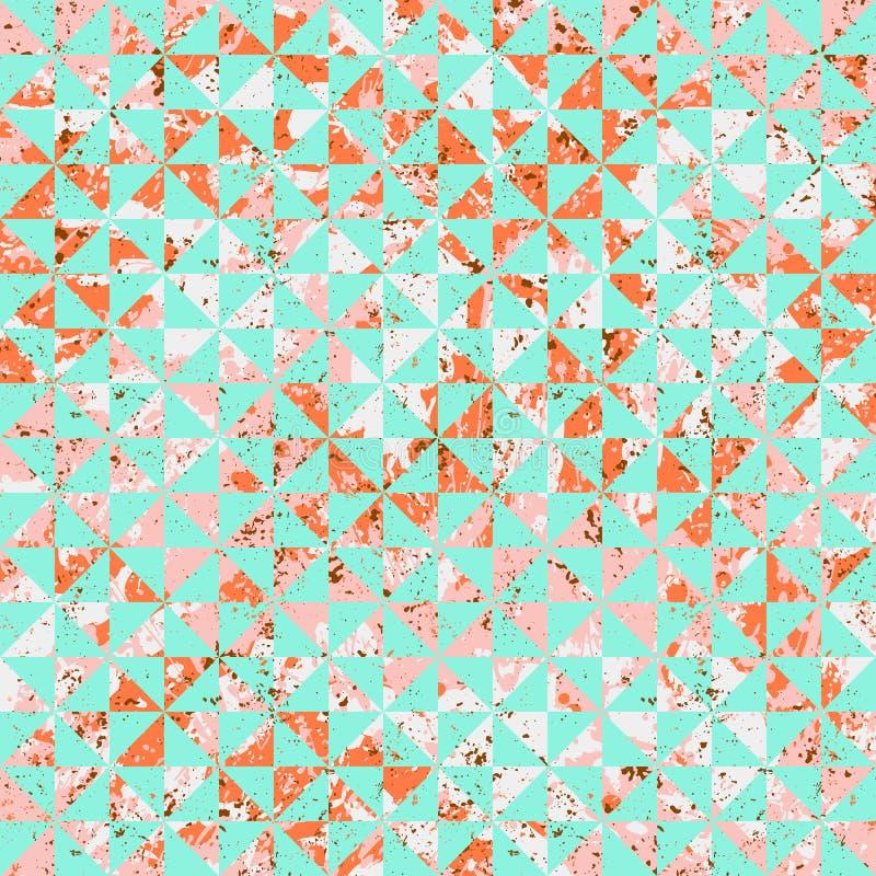 Pequeño modelo de mosaico abstracto geométrico libre illustration