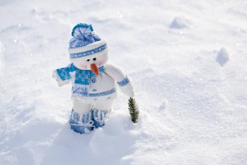 Pequeño muñeco de nieve. foto de archivo libre de regalías