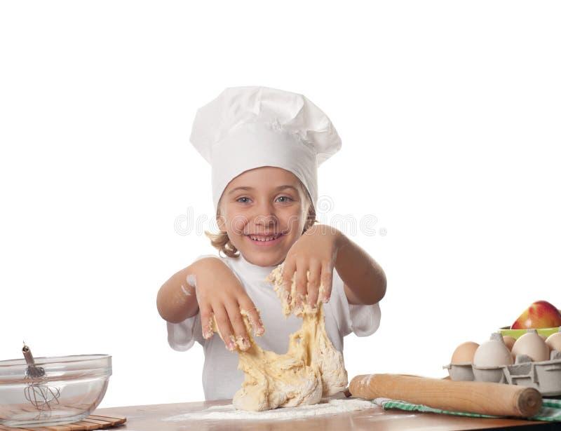 Pequeño panadero fotos de archivo