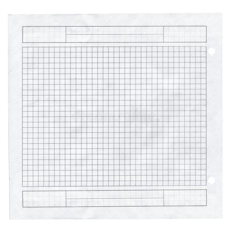 Pequeño pedazo de papel ajustado imágenes de archivo libres de regalías