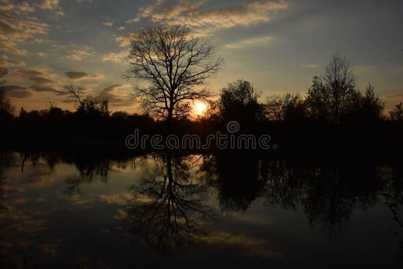 Pequeño río imagen de archivo libre de regalías