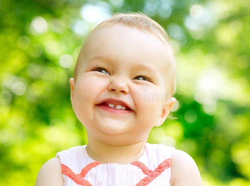 Pequeño retrato del bebé fotografía de archivo
