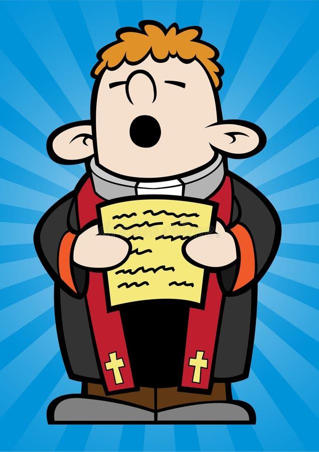 Pequeño sacerdote libre illustration