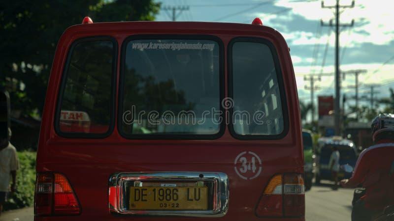 Pequeño vehículo urbano fotos de archivo