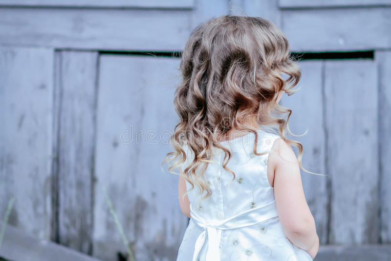 Pequeño vestido de la princesa imagen de archivo