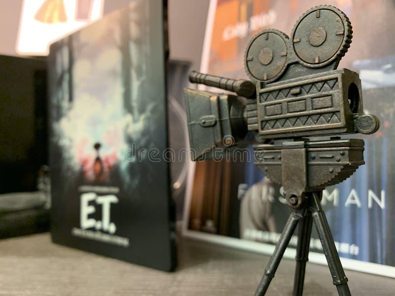 Pequeño VM minúsculo en el cine de Taiwán fotografía de archivo libre de regalías