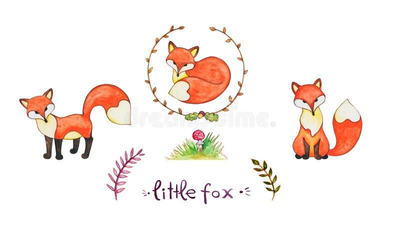 Pequeño zorro libre illustration