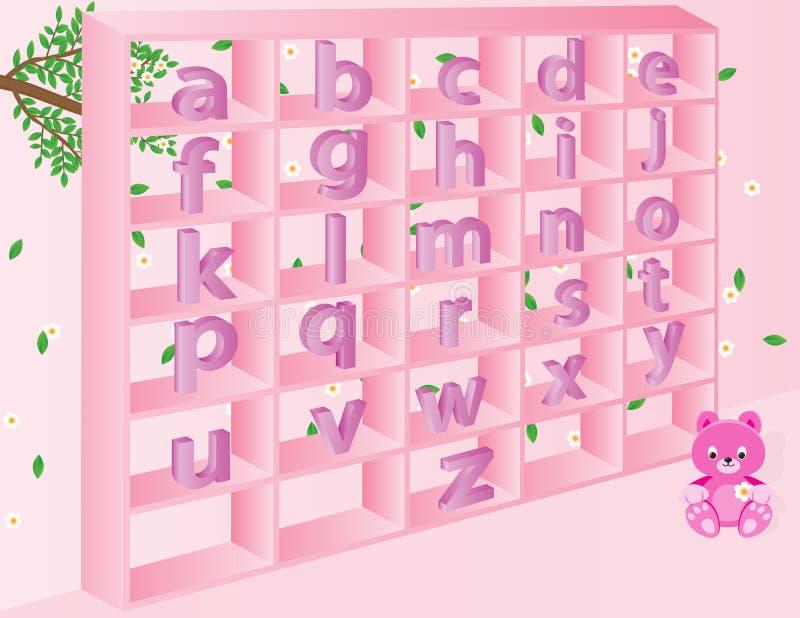 Pequeños alfabetos ingleses para los niños libre illustration