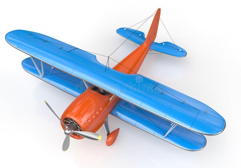 Pequeños aviones ilustración del vector