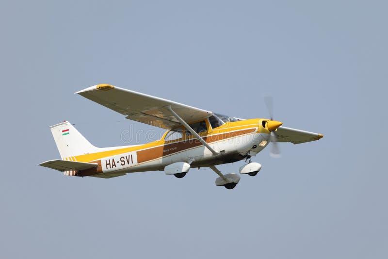 Pequeños aviones Cessna 172 fotografía de archivo libre de regalías