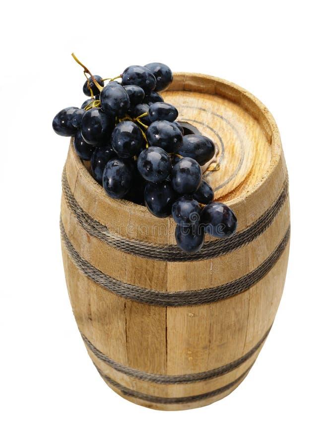 Pequeños barril y moscatel. imagen de archivo libre de regalías