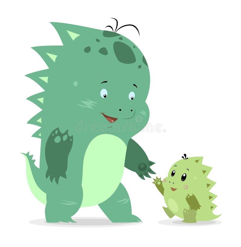 Pequeños dragones lindos libre illustration