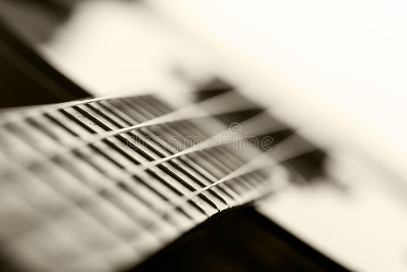 Pequeños guitarra atada del ukelele del Hawaiian cuatro foto de archivo