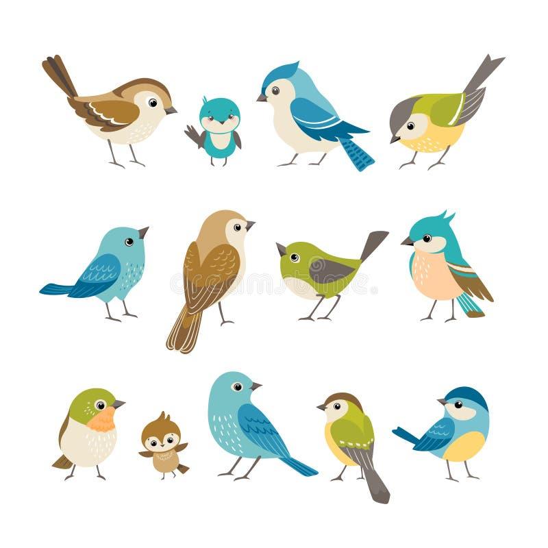 Pequeños pájaros libre illustration