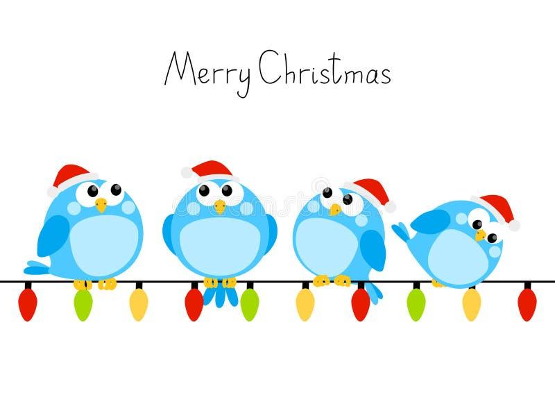 Pequeños pájaros lindos libre illustration