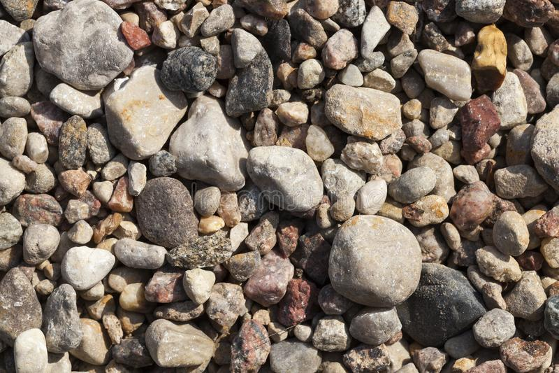pequeños piedras y escombros imagen de archivo libre de regalías