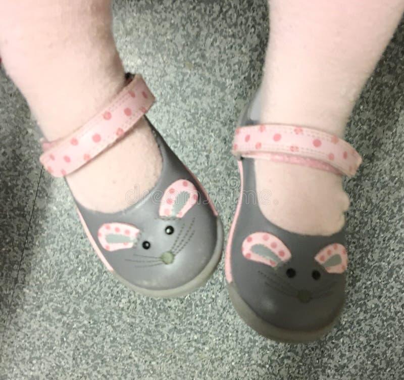 Pequeños zapatos foto de archivo libre de regalías