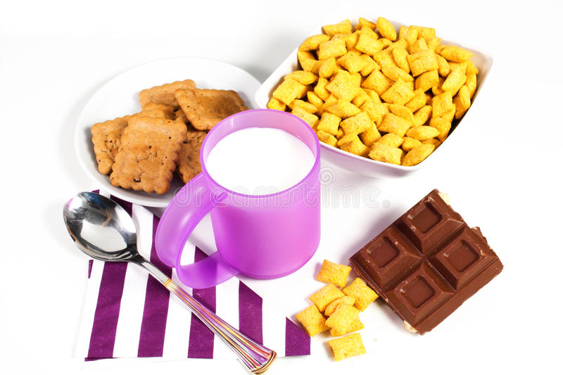 Download Pequeno almoço imagem de stock. Imagem de breakfast, catering - 26510667