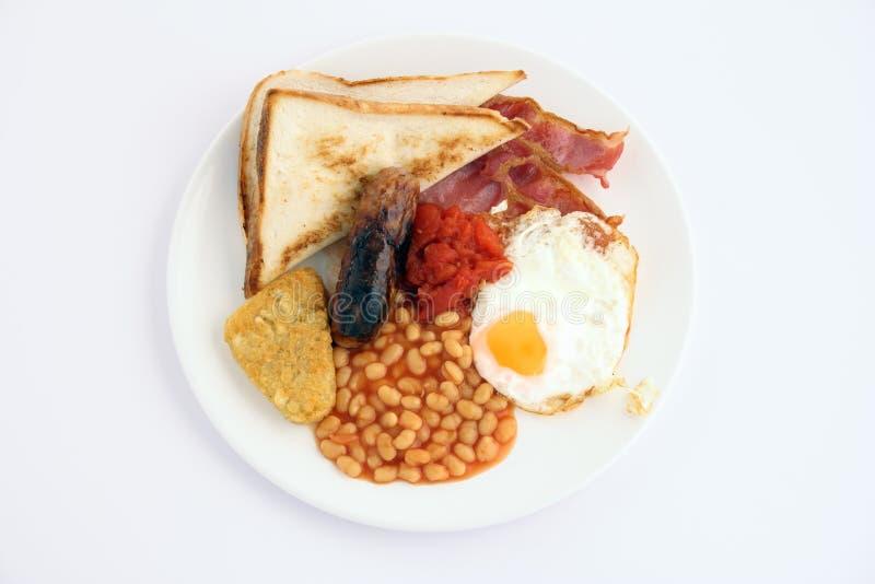 Pequeno almoço cheio inglês foto de stock royalty free