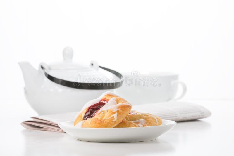 Pequeno almoço da boa manhã fotos de stock