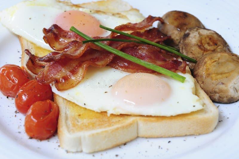 Café da manhã delicioso imagem de stock royalty free