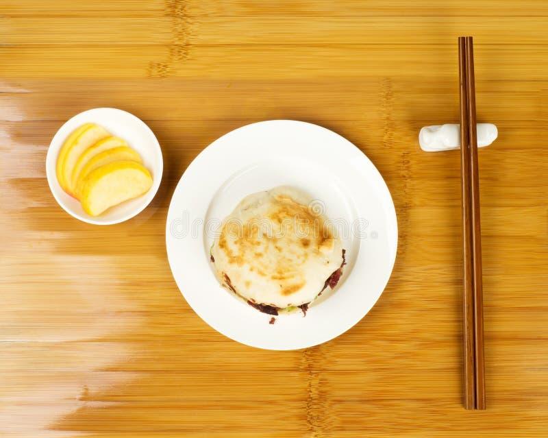 Pequeno almoço do estilo chinês fotografia de stock royalty free