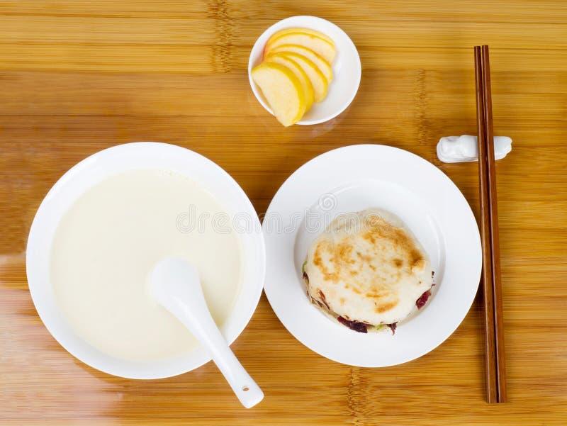 Pequeno almoço do estilo chinês imagem de stock royalty free