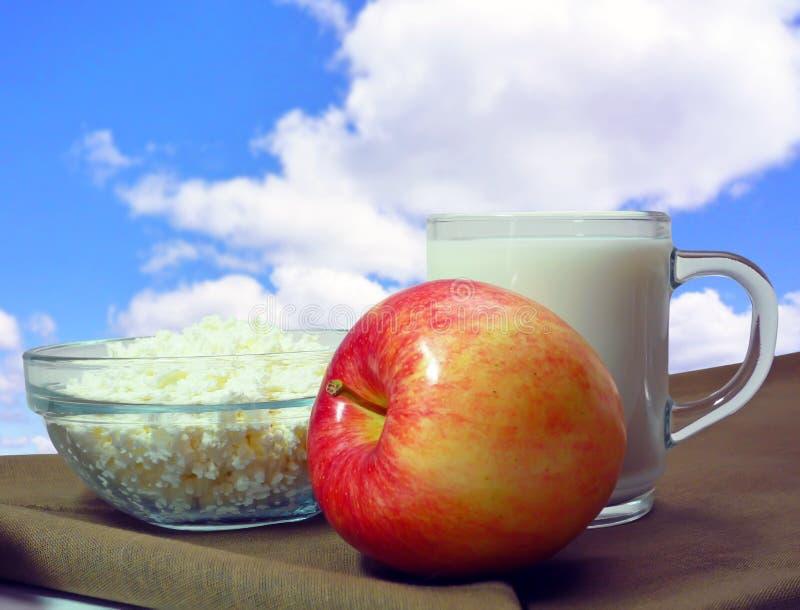 Pequeno almoço do verão foto de stock