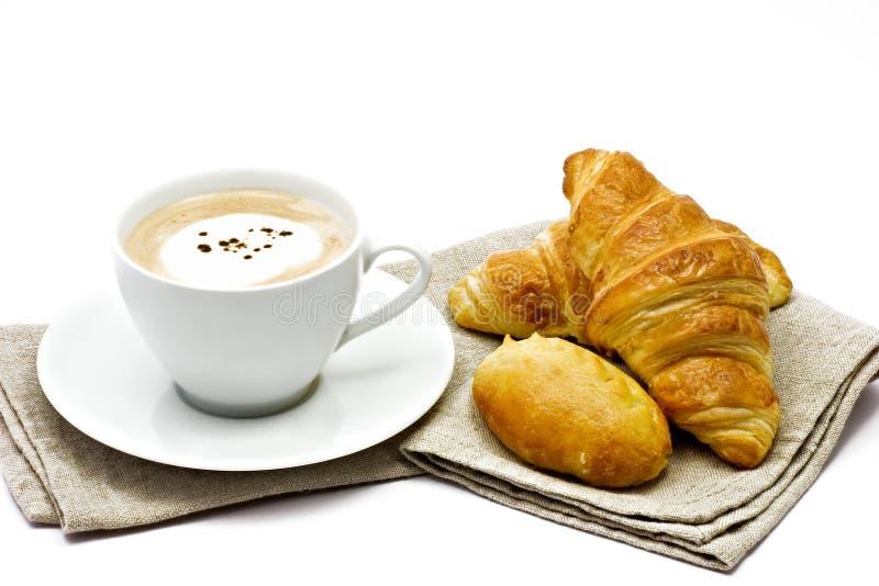 Pequeno almoço francês fotografia de stock royalty free