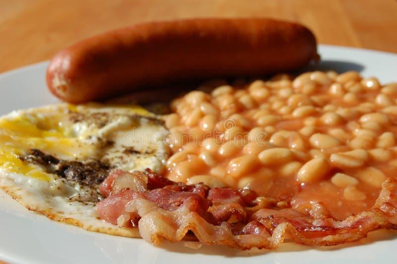 Pequeno almoço inglês cheio imagem de stock royalty free